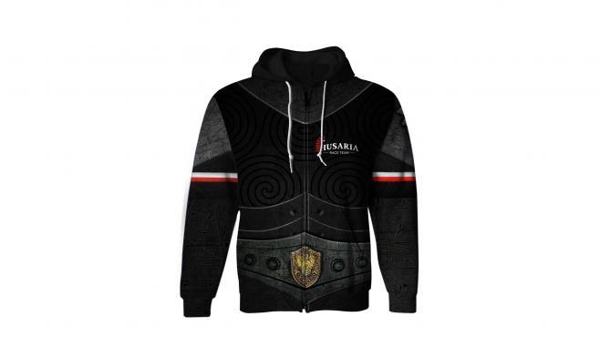 HOODIE sweatshirt ZIP Husaria RACE TEAM