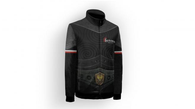 Sweatshirt with a stand-up collar Husaria RACE TEAM