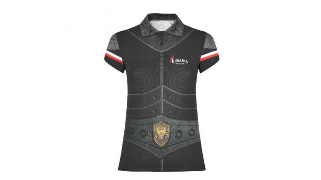 Women's T-shirt POLO Husaria RACE TEAM